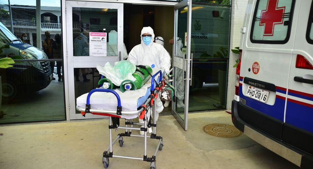 Falta de oxigênio para pacientes de COVID-19 nos hospitais de Manaus (AM)