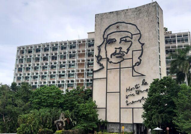 Edifício do Ministério do Interior de Cuba, em Havana