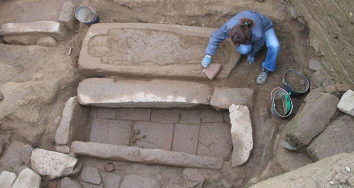 Sítio arqueológico descoberto em Gaia, Portugal