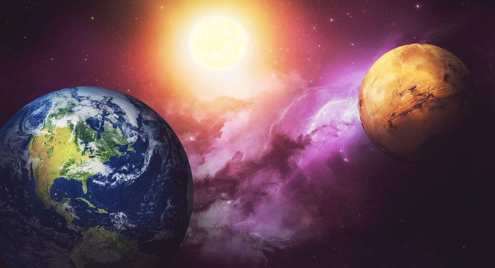 Marte e Terra