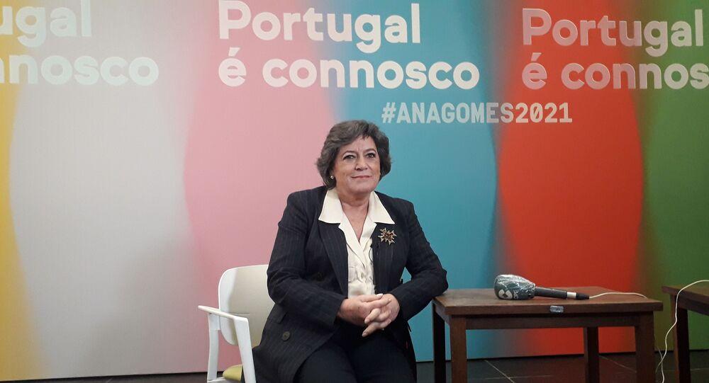 Ana Gomes, candidata à presidência de Portugal