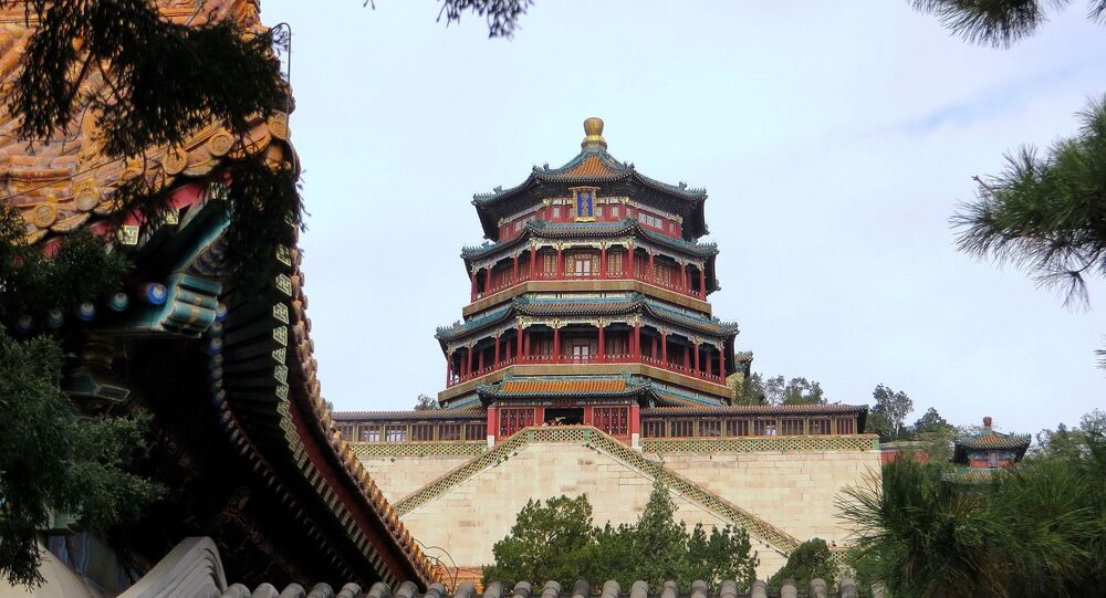 Palácio chinês (imagem referencial)