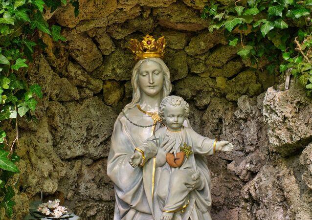Cristo, filho de Maria (imagem referencial)