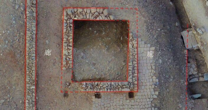 Escavação do complexo de templos do reino de Nanzhao