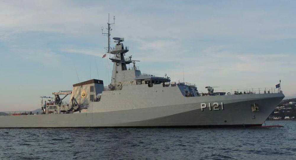 Navio de Patrulha da Marinha do Brasil NPaOc Apa