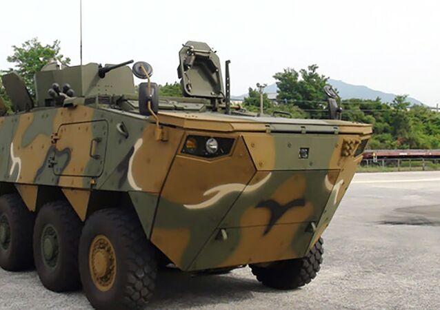 Veículo blindado sul-coreano K808