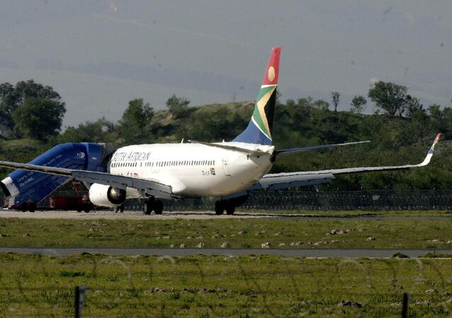 Avião da South African Airways