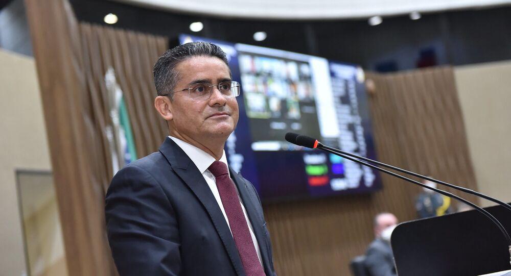 O prefeito de Manaus, David Almeida (Avante), tomou posse no dia 1º de janeiro de 2021.