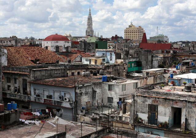 Havana Velha, centro histórico da capital cubana, Cuba