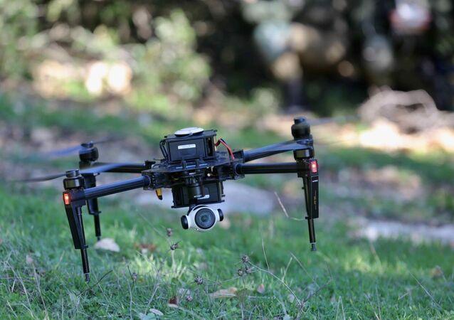 Um drone com capacidade de visão noturna, operado pelas Forças de Defesa de Israel, modelo similar ao que caiu no sul do Líbano