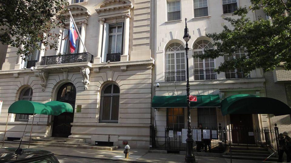 Consulado Geral da Rússia em Nova York, nos Estados Unidos