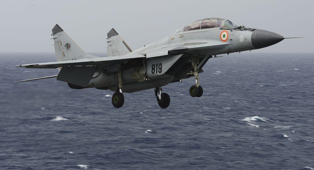 MiG-29K da Força Aérea da Índia