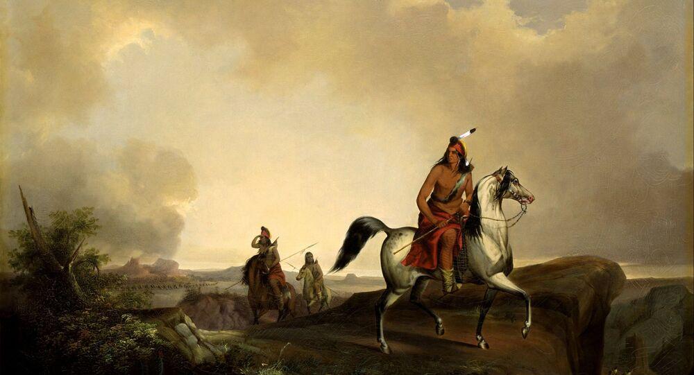 Indio americano (imagem ilustrativa)