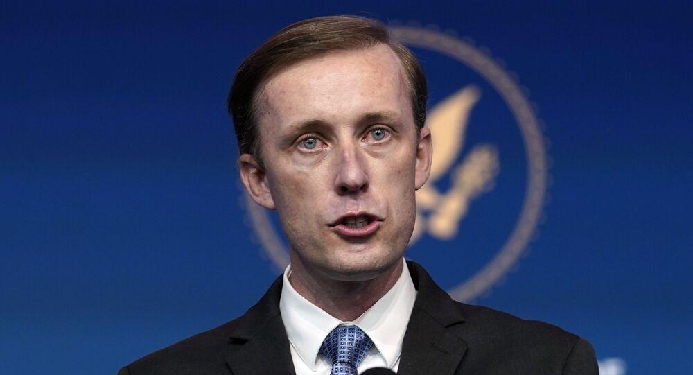 O assessor de Segurança Nacional da Casa Branca, Jake Sullivan
