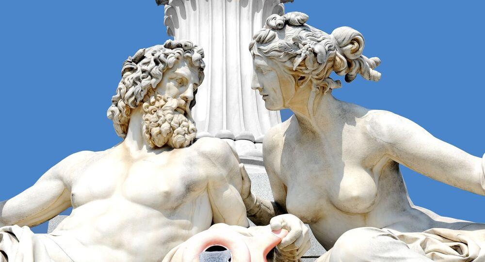 Estatuas de deuses gregos (imagem referencial)