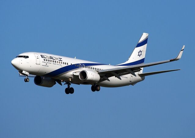 Boeing 737 da Israel Airlines
