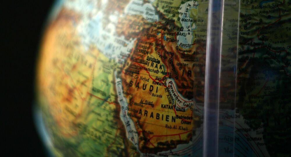 Mapa do Oriente Médio (imagem referencial)