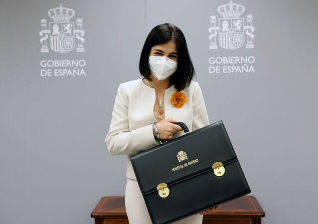 Carolina Darias, ministra da Saúde da Espanha