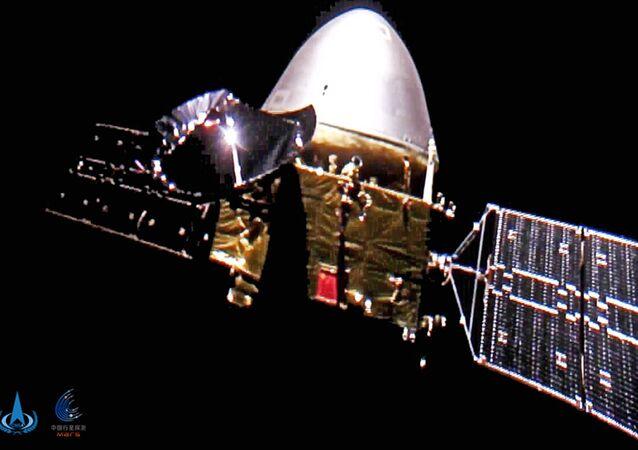 Sonda Tianwen-1 a caminho de Marte, 16 de dezembro de 2020