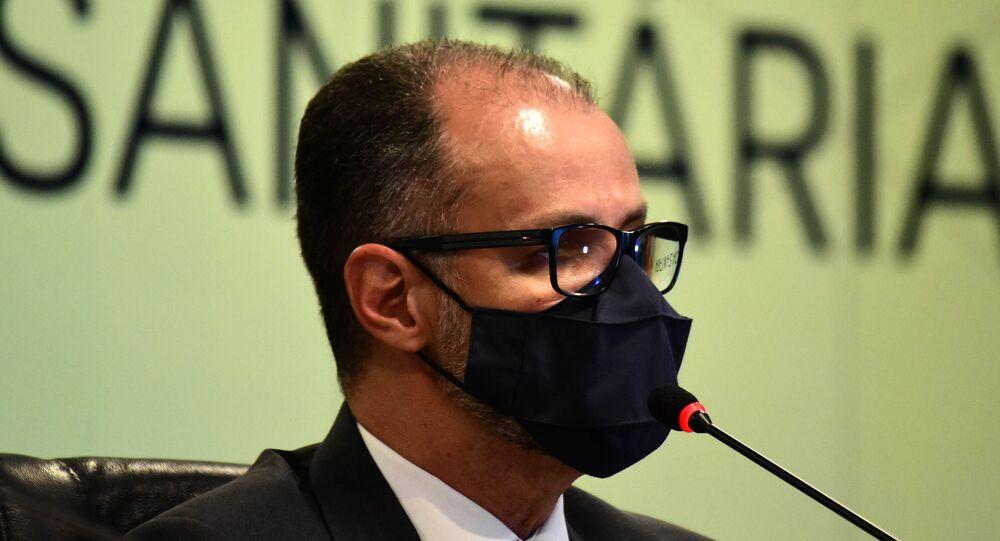 Presidente da Agência Nacional de Vigilância Sanitária (Anvisa), Antonio Barra Torres