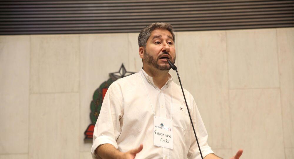 Fernando Cury, deputado estadual de São Paulo