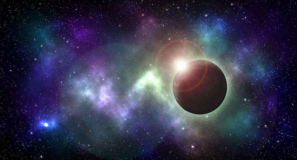 Corpo celeste (imagem referencial)