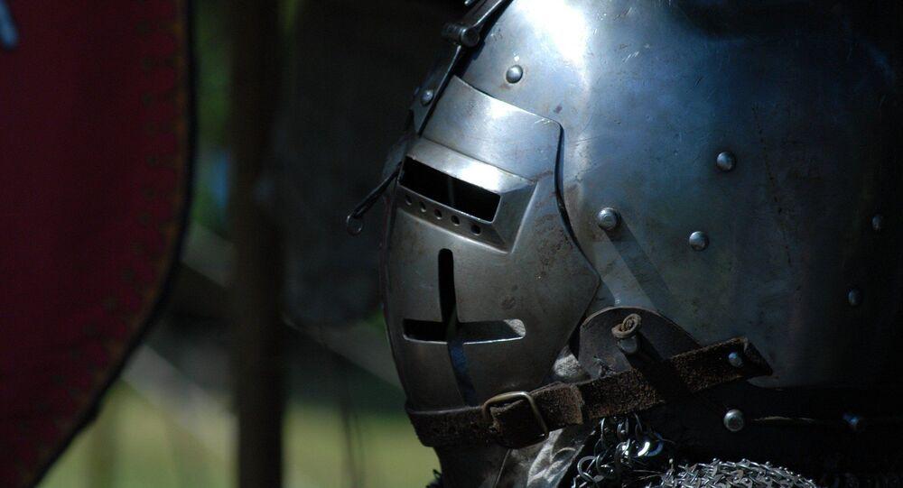 Soldado do tempo das Cruzadas (imagem ilustrativa)