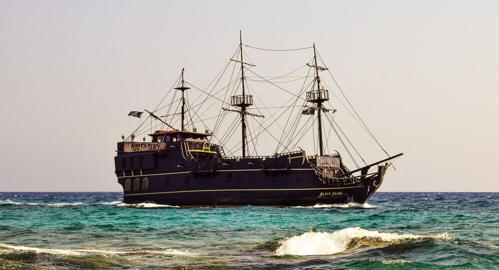 Navio pirata (imagem referencial)