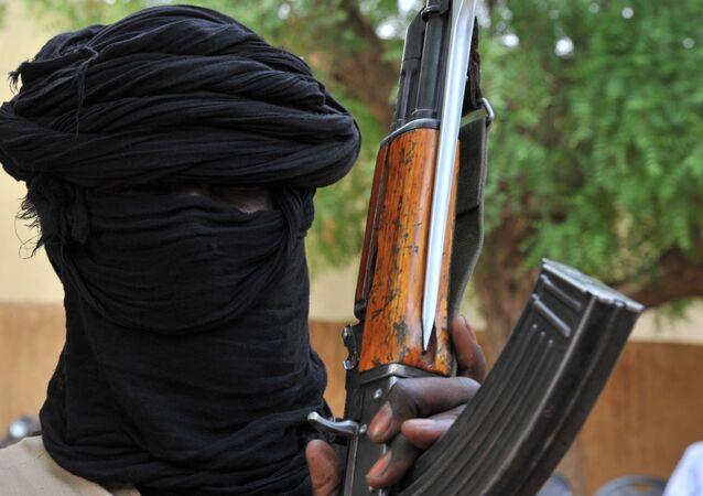 Militante de grupo terrorista na cidade de Gao, Mali (foto de arquivo)