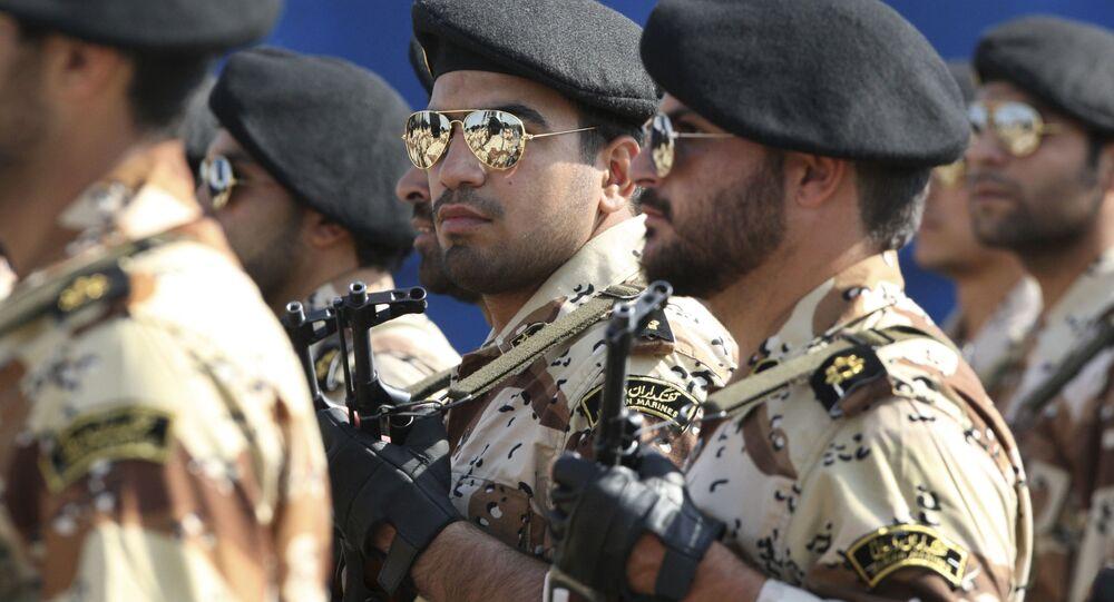 Militares do Corpo de Guardiões da Revolução Islâmica (IRGC)