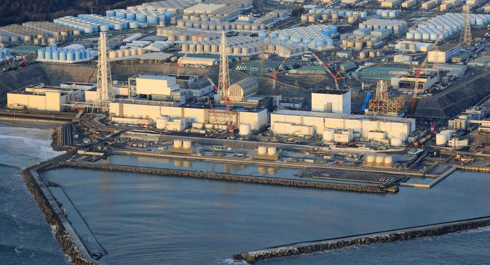 Usina nuclear de Fukushima Daiichi na cidade de Okuma, prefeitura de Fukushima, após o forte terremoto deste sábado (13) no nordeste do Japão