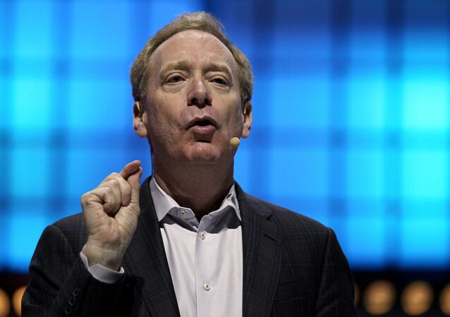 Presidente da Microsoft, Brad Smith