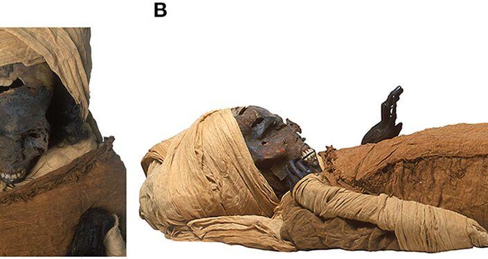 Múmia do faraó Seqenenre Taa II