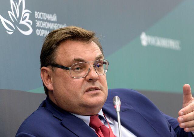 O ministro da Justiça da Rússia, Konstantin Chuichenko