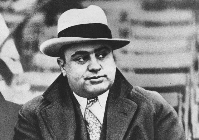 Al Capone em Chicago, EUA (foto de arquivo)
