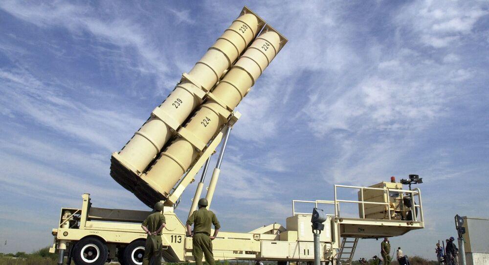 Sistema antimíssil Arrow em Israel (foto de arquivo)