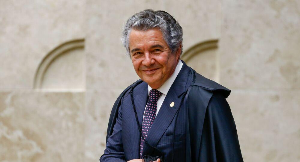 Ministro Marco Aurélio Melo, do STF (Supremo Tribunal Federal)