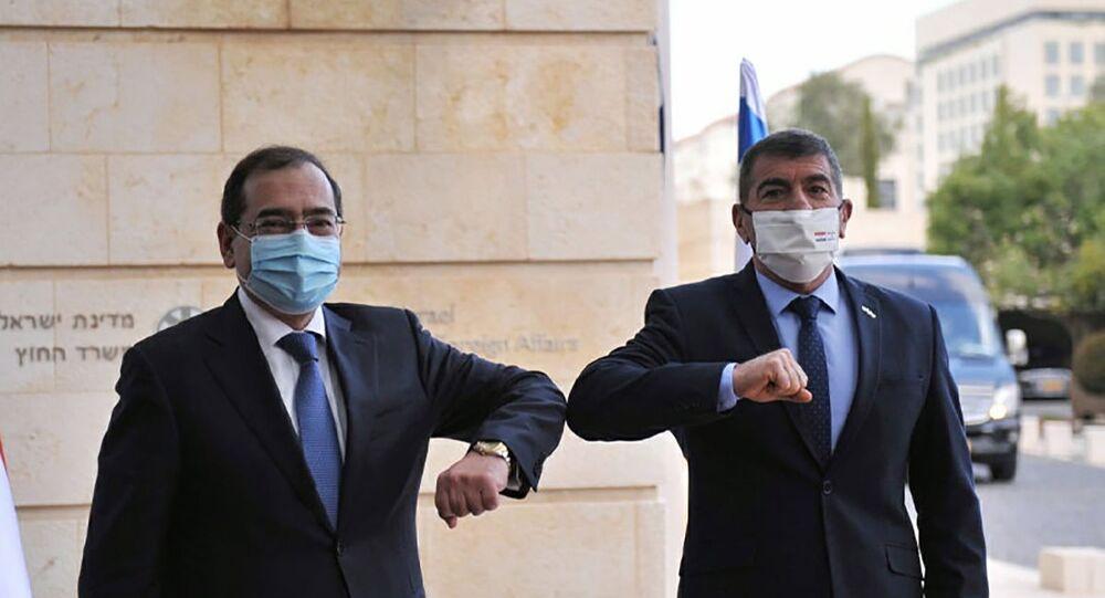 Gabi Ashkenazi e Tarek EL Molla