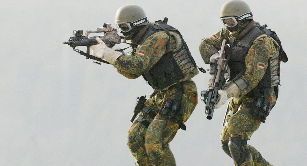 Militares das forças de elite da Alemanha