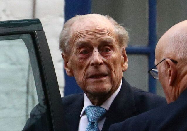O duque de Edimburgo, príncipe Philip
