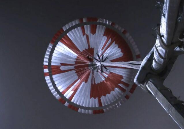 Paraquedas do rover Perseverance