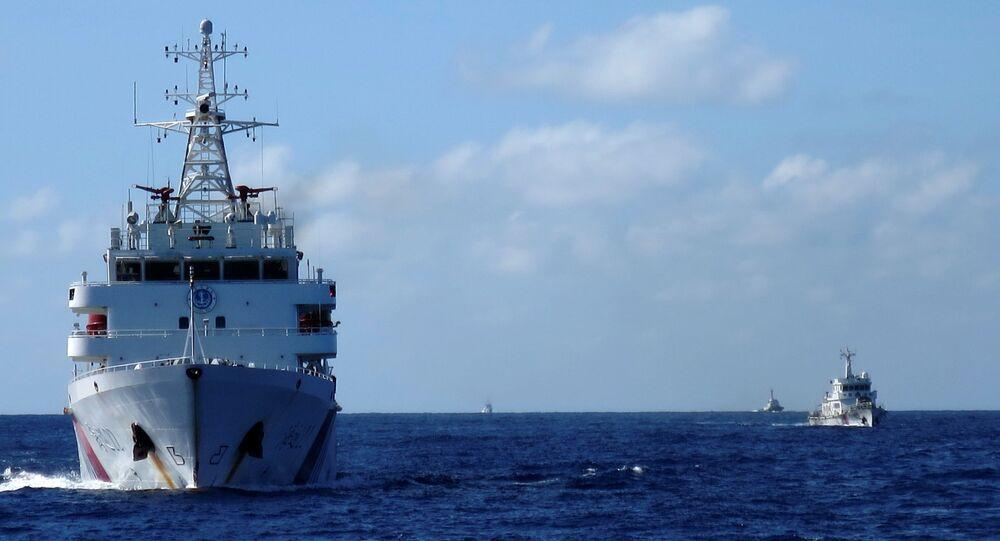 Navio da Guarda Costeira chinesa