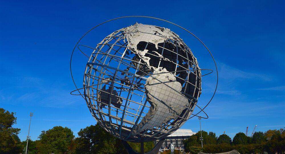 Modelo da Terra (imagem referencial)