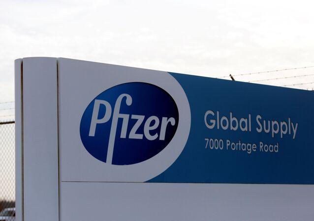 Fábrica da farmacêutica Pfizer em Portage, Michigan, EUA, 11 de dezembro de 2020