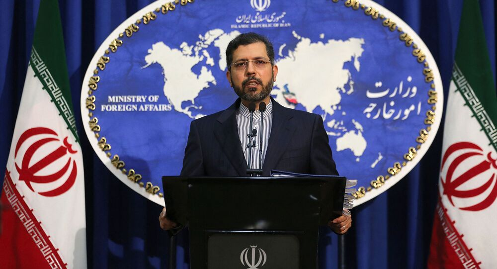 Saeed Khatibzadeh, porta-voz do Ministério das Relações Exteriores do Irã