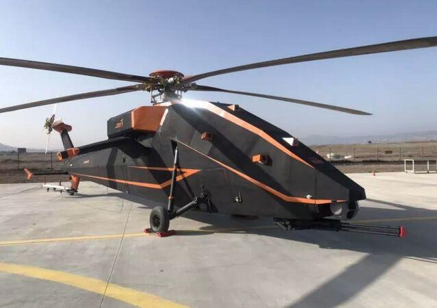 Helicóptero não tripulado T629 da Turquia