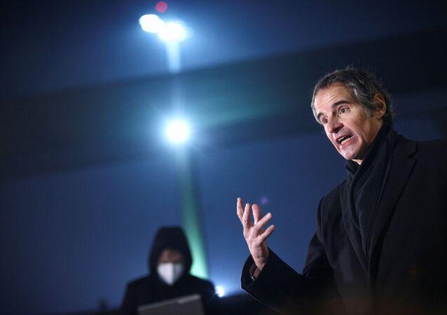 Rafael Grossi, diretor-chefe da AIEA em Teerã.