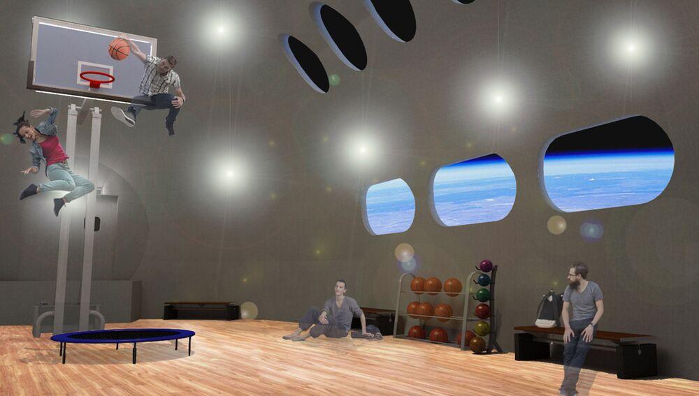 Academia da Voyager oferecerá atividades de baixa gravidade sem precedentes