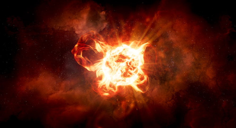 Estrela hipergigante VY Canis Majoris