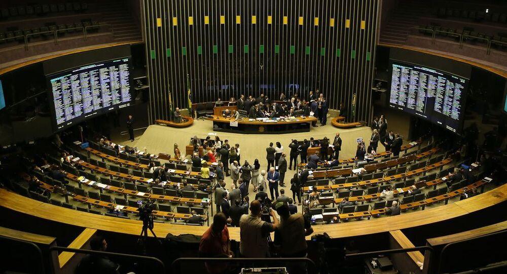 Sessão conjunta do Congresso Nacional